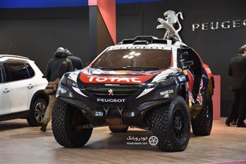 پژو ۲۰۰۸ داکار، قهرمان رالی جهان در نمایشگاه خودرو + عکس